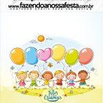 Mini Pastilha Docile Kit Dia das Crianças