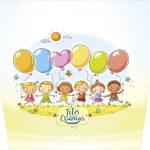 Balde de Pipoca Kit Dia das Crianças