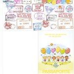 Molde Passaporte Kit Dia das Crianças