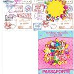 Molde Passaporte Shopkins
