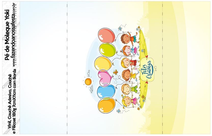 Pé de Moleque Yoki Kit Dia das Crianças