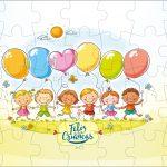 Quebra-cabeça Kit Dia das Crianças