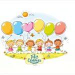 Rótulo água Kit Dia das Crianças