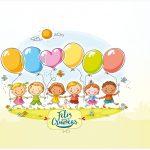 Rótulo bombom Kit Dia das Crianças