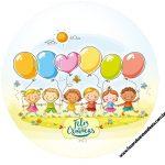 Rótulo Latinhas Toppers e tubete Kit Dia das Crianças