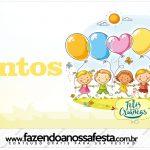 Rótulo Mentos Kit Dia das Crianças
