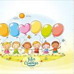 Rótulo Mini Confeti Kit Dia das Crianças