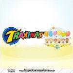 Rótulo Mini Trakinas Kit Dia das Crianças