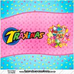 Rótulo Mini Trakinas Kit Festa Shopkins