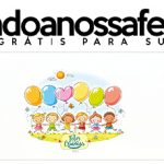 Rótulo Pote Papinha Kit Festa Dia das Crianças