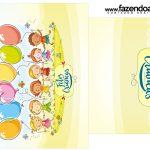Rótulo Saquinho de Chá Kit Festa Dia das Crianças