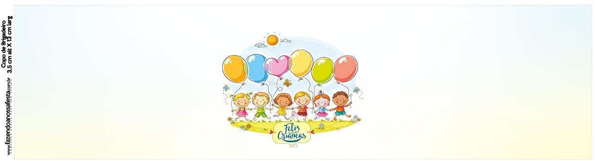Rótulo Squezze Kit Festa Dia das Crianças