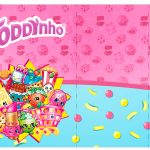 Rotulo Toddynho Shopkins