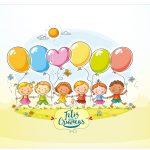 Rótulo Vinho e Espumante Kit Dia das Crianças