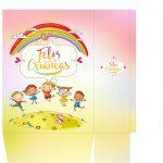 Sacolinha Dia das Crianças Arco Íris - parte 1