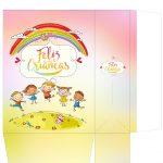 Sacolinha Dia das Crianças Arco Íris - parte 2