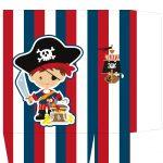 Sacolinha Surpresa Dia das Crianças Pirata - parte 2