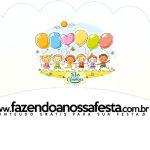 Saias Wrappers para Cupcakes 2 Kit Dia das Crianças