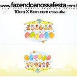 Saquinho de balas Kit Festa Dia das Crianças