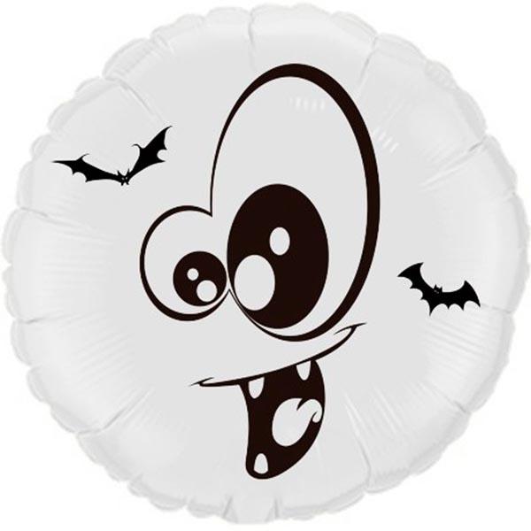 Balão Metalizado Halloweeen Drácula