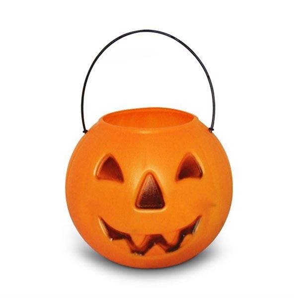 Balde Caldeirão Abobora de Halloween - Tudo para festa Halloween