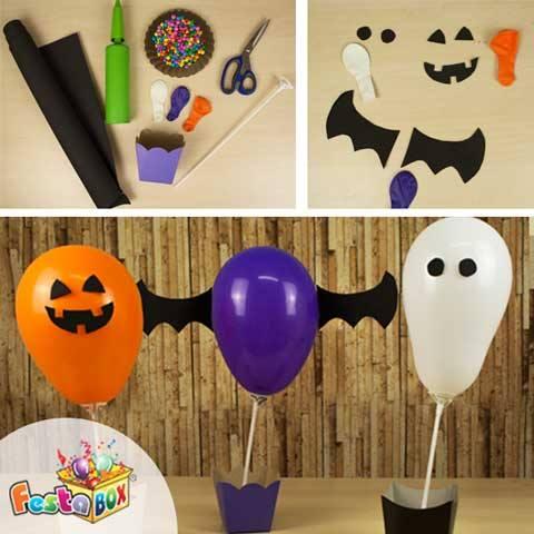 Decorações Balões Halloween