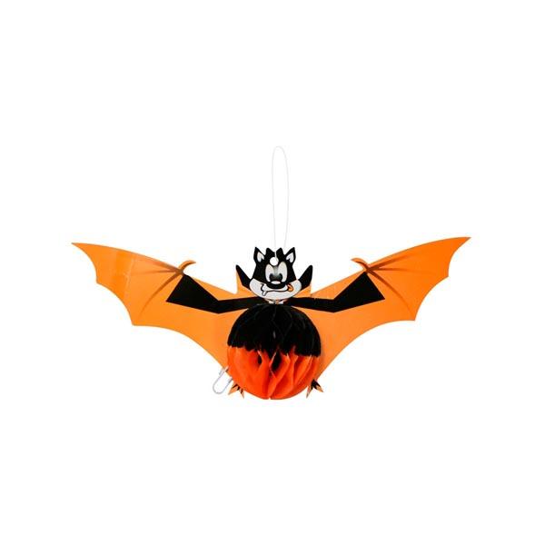 Enfeite Morcego Feliz Papel Halloween