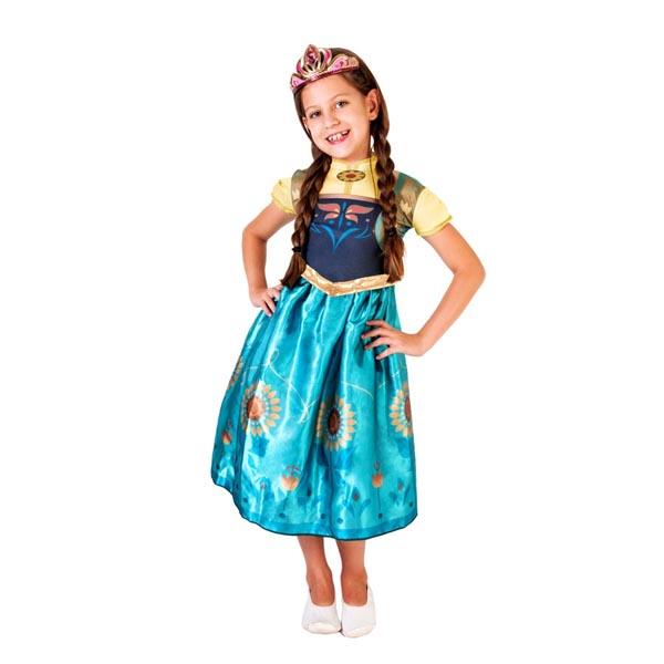 Fantasia Princesa Anna Frozen