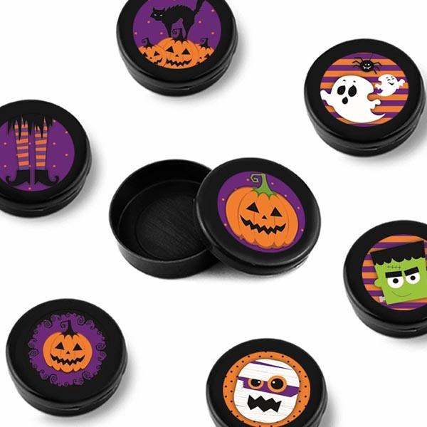 Mini Latinhas Halloween - Tudo para festa Halloween