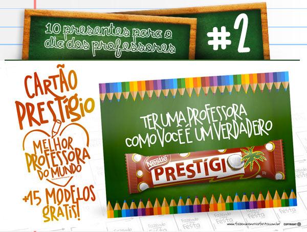 10 dicas de presentes para dia dos professores lembrancinhas - Dica 2