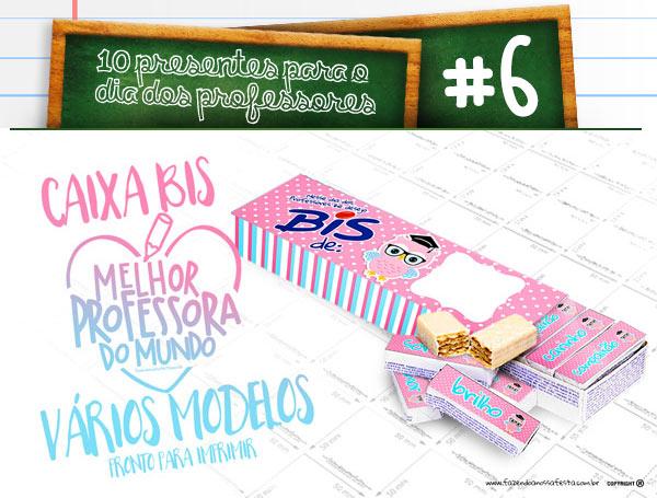 10 dicas de presentes para dia dos professores lembrancinhas - Dica 6