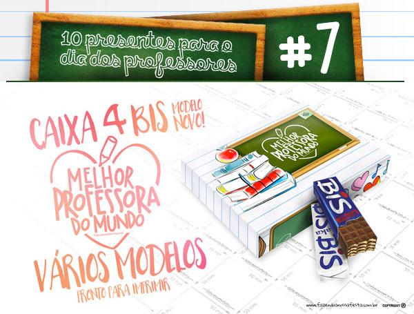 10 dicas de presentes para dia dos professores lembrancinhas - Dica 7