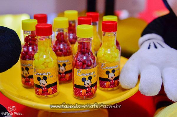 Balinhas Festa Mickey do Emanuel