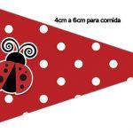 Bandeirinha Sanduíche 1 Joaninha