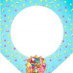 Bandeirinha Varalzinho 3 Shopkins Azul
