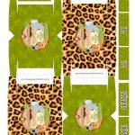 Caixa 4 Bis para Dia das Crianças Safari