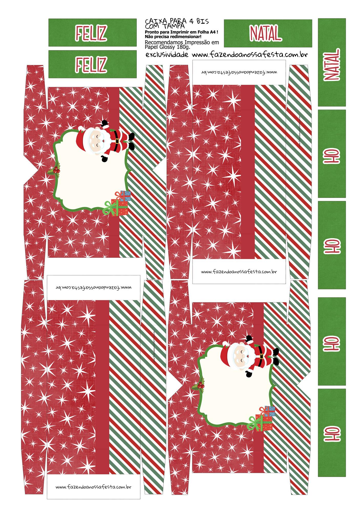 Caixa 4 Bis Especial Natal 13