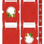 Caixa 4 Bis Especial Natal Vermelha Duende