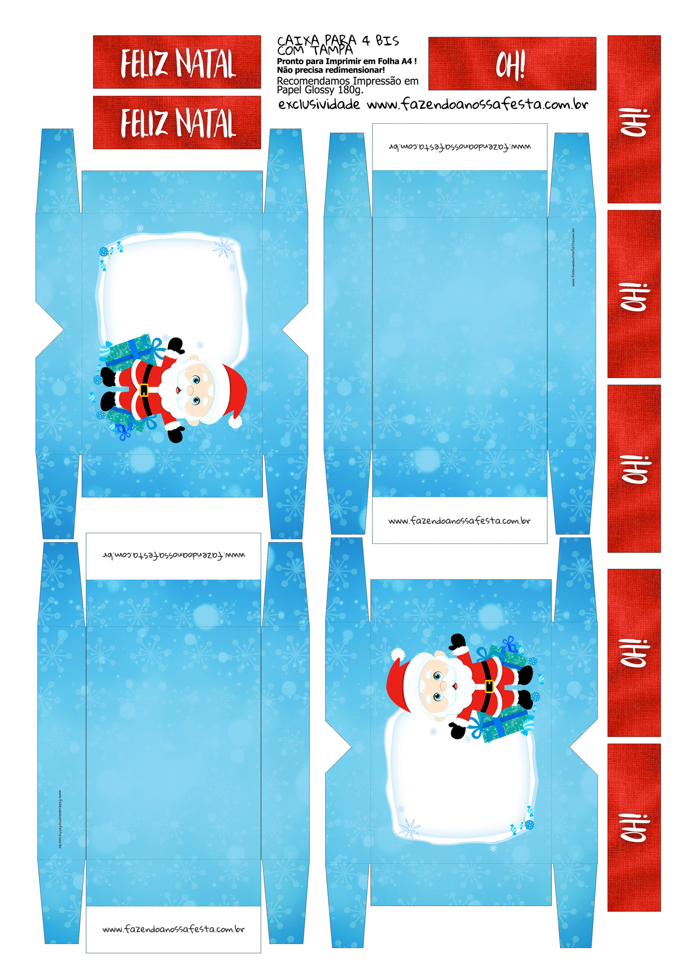 Caixa 4 Bis para Natal 2