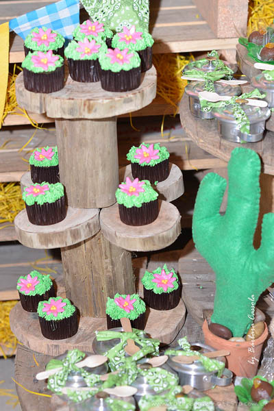 Cupcakes Festa Xerife Callie