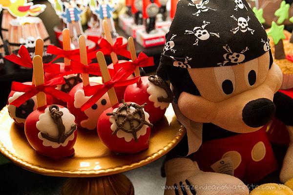 Doces Festa Mickey Pirata para Inspiração