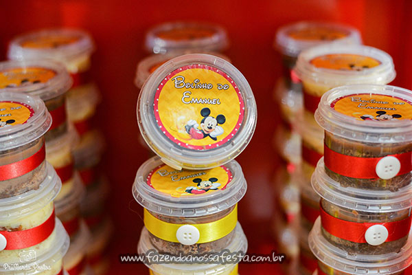 Doces Festa Mickey do Emanuel