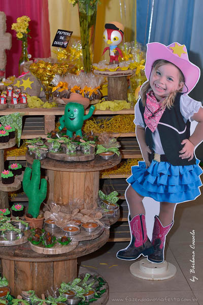 Festa Infantil Xerife Callie 2