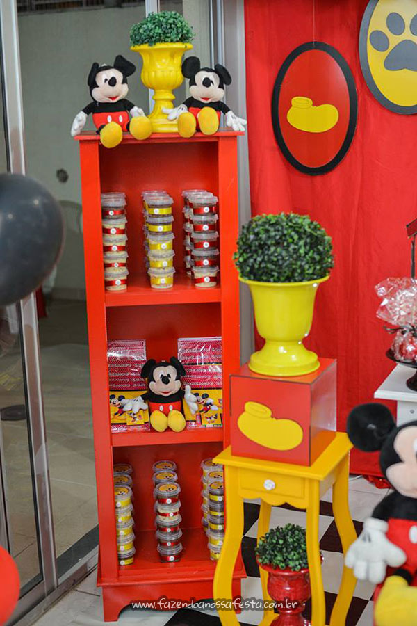 Festa Mickey do Emanuel