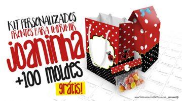 Kit Festa Joaninha Grátis Modelo