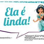 Plaquinhas Divertida Princesa Jasmine 10
