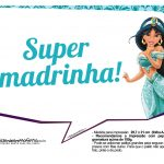 Plaquinhas Divertida Princesa Jasmine 11