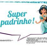Plaquinhas Divertida Princesa Jasmine 12