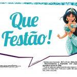 Plaquinhas Divertida Princesa Jasmine 14