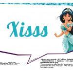 Plaquinhas Divertida Princesa Jasmine 19